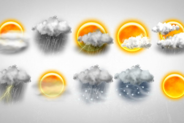 Dynamic Weather Icons
